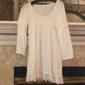 Lilly Pulitzer White Tunic Top Small So Cute!